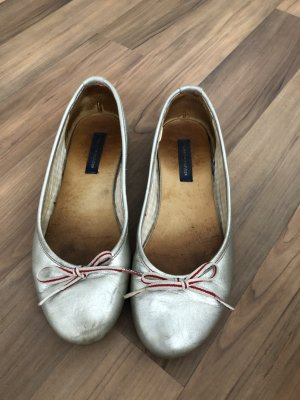 Silber Ballerina Schuhe von Tommy Hilfiger