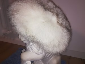 & other stories Fur Hat white-silver-colored