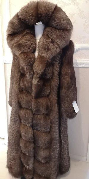 Silber Fuchs Pelz Silver Fox FUR Jacke Pelzmantel Fell Coat