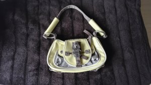 Silber Gelbe kleine Handtasche