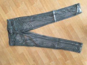 Denny Rose Jeans argenté-gris