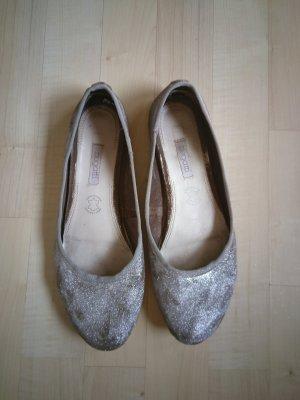 silber glitzer Bugatti Ballerinas