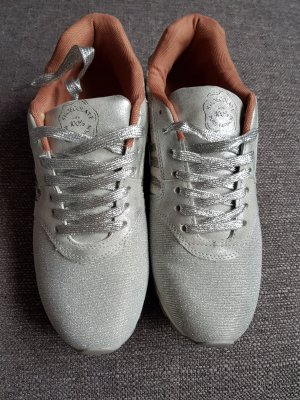 silber grau glitzer Sneaker shoecolate gr. 40