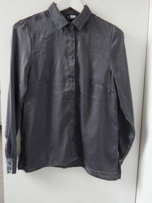 Silber-Graue Bluse von H&M
