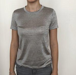 Silber/ Graues T-shirt
