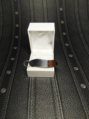 Silber Haarspange massiv 925, glänzend, Gravur möglich!