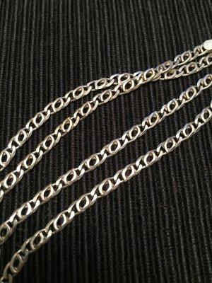 Silber Halskette, 55 cm lang echtes 925-Silber
