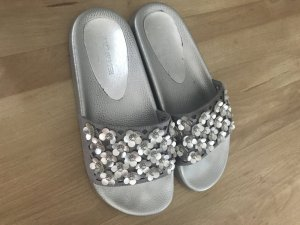 Hunkemöller Beach Sandals silver-colored