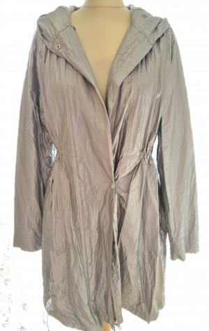 Opus Jacket silver-colored-light grey polyurethane