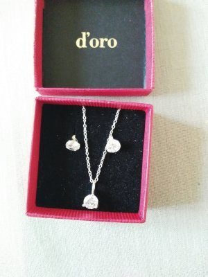 Silber Kette und Ohrringe von dorotheum