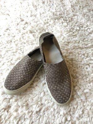 Silber metallic geflochtene Sneaker von MOSSIMO