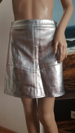 Amisu Miniskirt silver-colored