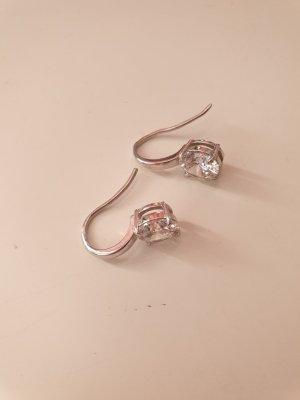 Silber Ohrhänger mit Zirkoniastein