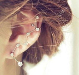 Silber-Ohrring mit Steinen