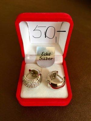 Silber Ohrringe, neu!
