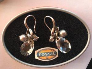 Silber-Ohrringe von Fossil