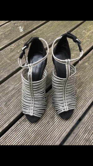 Silber Party Heels