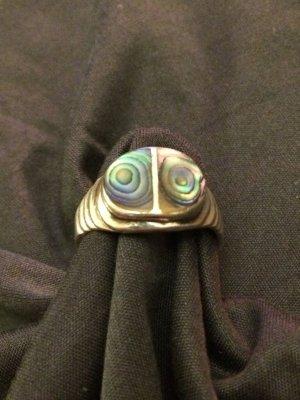 Silber Ring mit Perlmutt