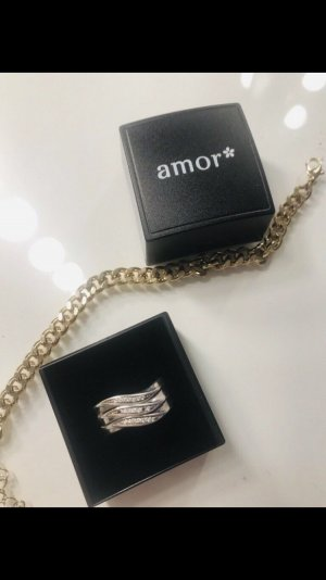 amor Silver Ring silver-colored