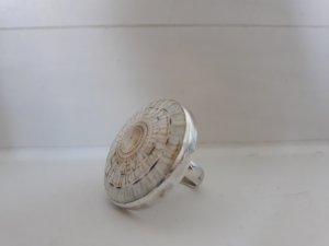 Silber Ring Schnecke