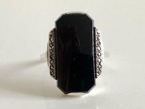 Silber Ring Silberring Onyx 835