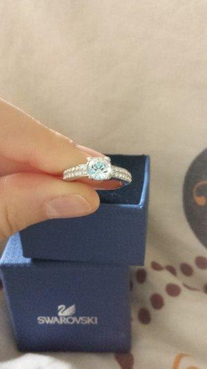 silber ring von swarovski