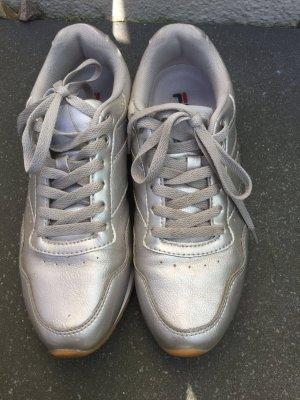 Silber Rose Gold sneaker von Fila Gr 39