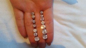 Silber Runde Ohrringe