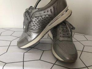 Silber Schuhe Glitzer