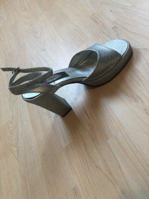 Graceland Zapatos formales color plata