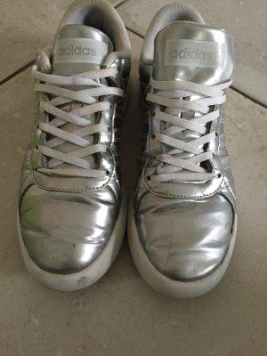 Silber sneaker von Adidas Neo