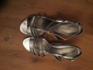 Silber Tamaris Sandalette 39