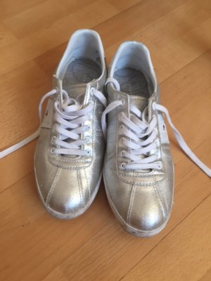 silber Tommy Hilfiger Sneaker Turnschuhe 39 (fast neu)