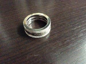 Silber- Trinity- Ring von Pianegonda