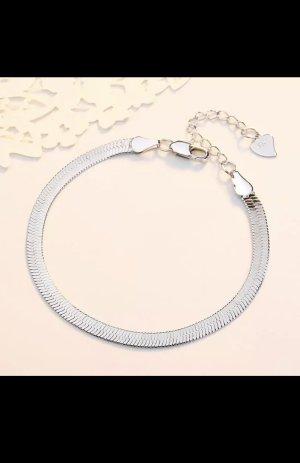 Silber925 armband flache schlangenkette neu