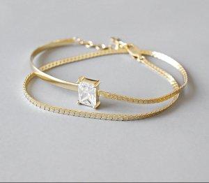 Silber925 Armband neu gold