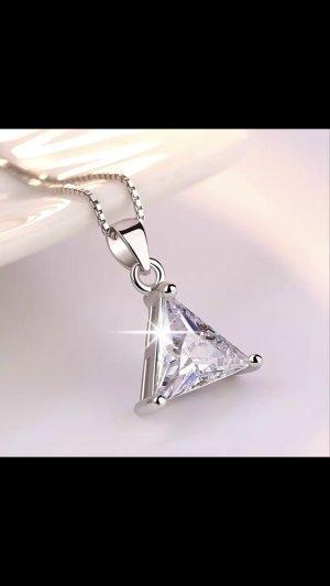 Silber925 halskette neu mit anhänger