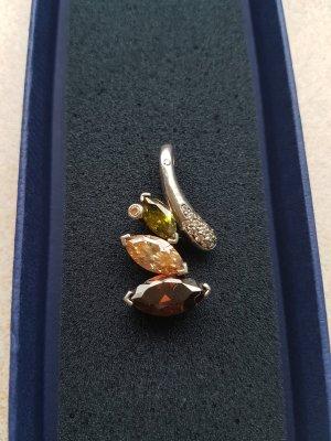 Silberanhänger mit Zirkonia  Steinen