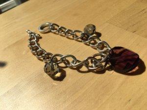 Silberarmband mit Swarovskisteinen