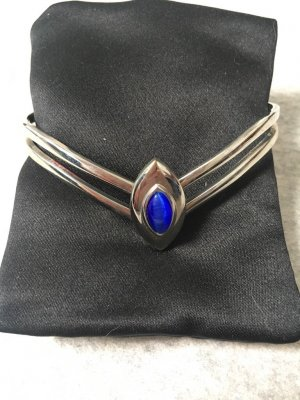 Armlet silver-colored-blue