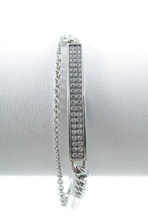 Zilveren armband zilver casual uitstraling