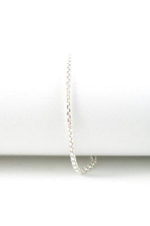 Braccialetto in argento argento stile da moda di strada