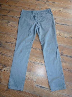 Silberblaue Hose Gr. 42 glänzend
