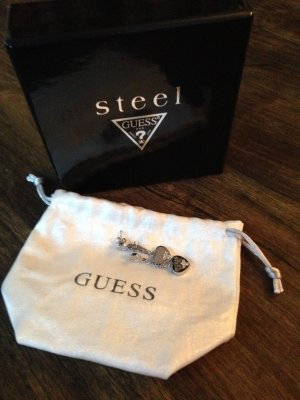Guess Dangle silver-colored-white metal