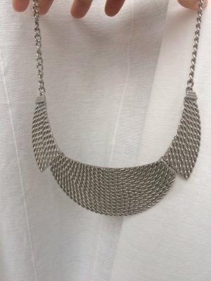 Silberfarbene Statementkette von H&M