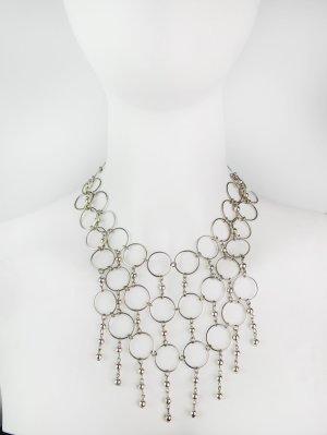 Silberfarbene Vintage Gliederkette