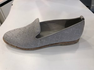 Marco Tozzi Ballerinas with Toecap light grey-silver-colored