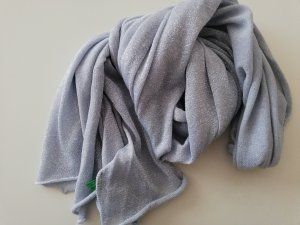 Benetton Summer Scarf silver-colored-light grey lurex