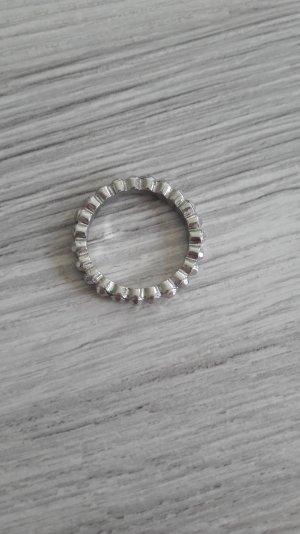 silberfarbener Ring von H&m