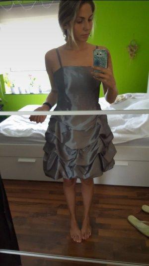 b.p.c. Bonprix Collection Ball Dress silver-colored